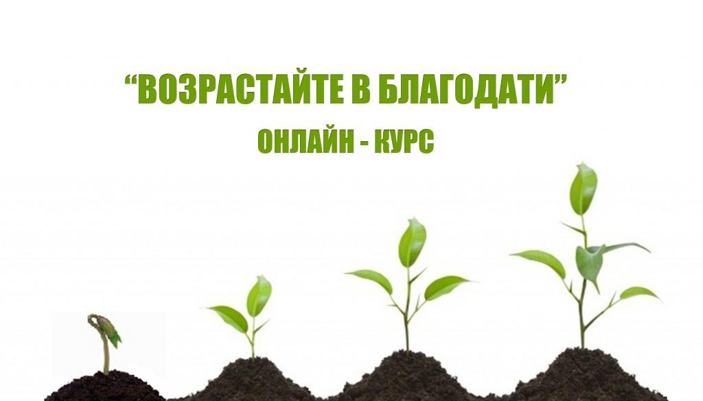 Онлайн-курс «Возрастайте в благодати»