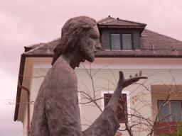 Статуя Иисуса в Австрии