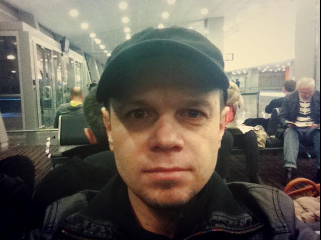 Вылетаю из Киева в Амстердам (13.02.2013)