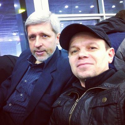 В аэропорту встретил старого знакомого (13.02.2013)