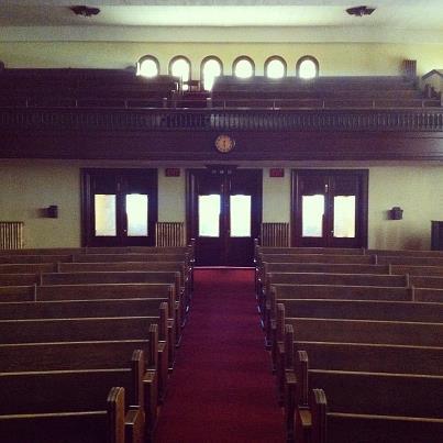 С пастором много говорили об этапах становления церкви (14.02.2013)