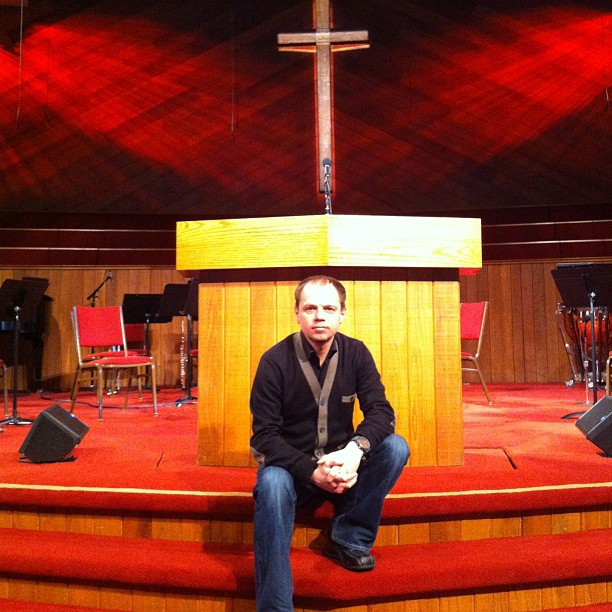 """В церкви """"Grace Community Church"""" (10.03.13)"""