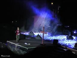Проповедование на фестивале 2005г.
